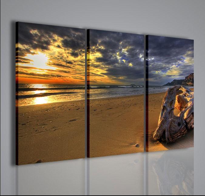 Quadri moderni quadri di natura e paesaggi sundown for Stampe quadri astratti
