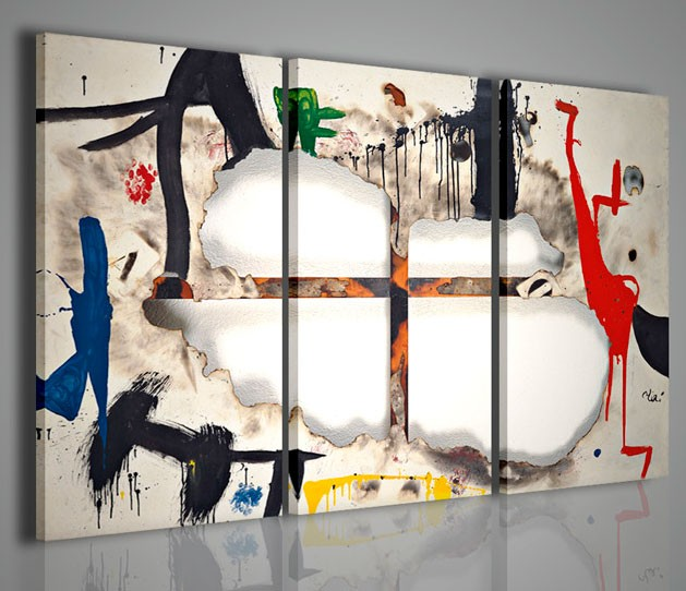 Quadri moderni quadri pittori famosi joan mir iii for Immagini astratte moderne