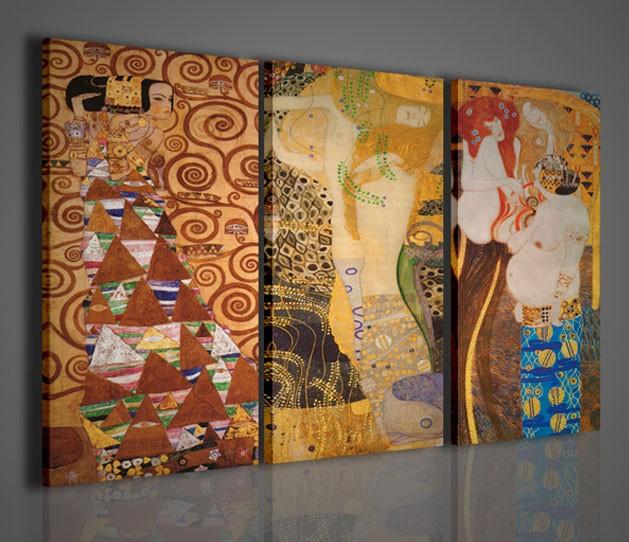 Quadri Moderni-Quadri Pittori Famosi-Klimt IV Memorial | QUADRI ...
