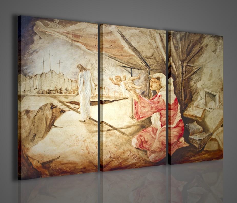 Quadri religiosi capoletto cristo quadri moderni for Quadri arredamento moderno