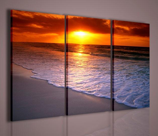 Quadri moderni quadri di natura e paesaggi mexico sunrise for Arredamento natura