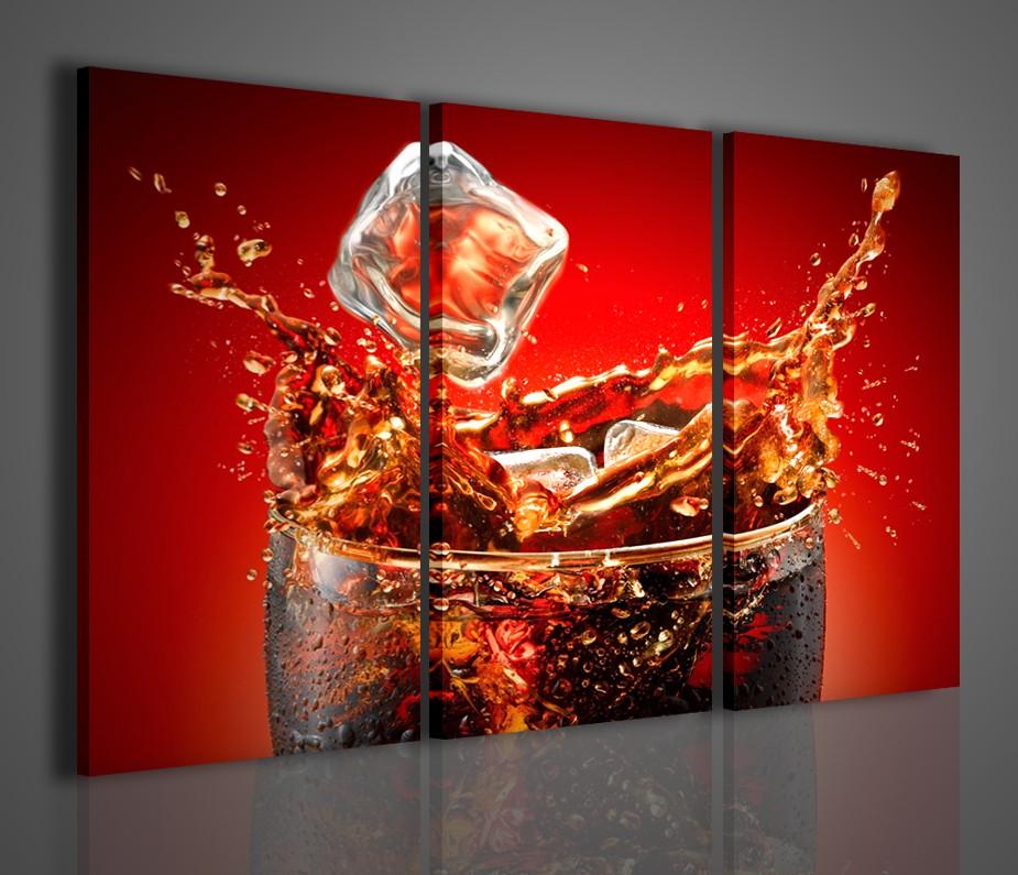 Quadro moderno cuba libre drink quadri moderni arredamento for Stampe da parete