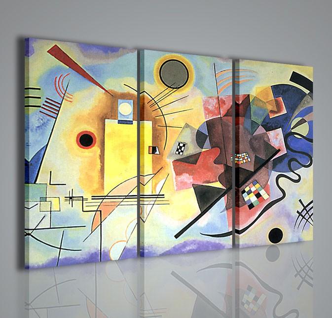 Quadri moderni quadri pittori famosi kandisky x quadri for Quadri astratti famosi