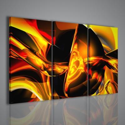 Quadro astratto quadri moderni su tela arredamento casa for Stampe quadri astratti