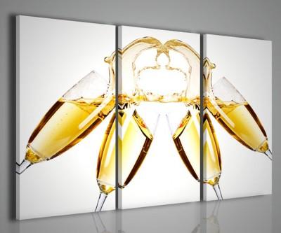 Quadri Moderni-Quadri Food & Drink-Champagne Composition