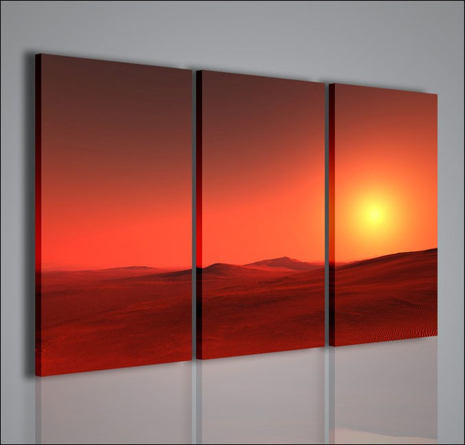 Quadri moderni quadri di natura e paesaggi dune quadri - Quadri da parete moderni ...