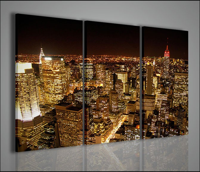 Quadri moderni quadri citt new york lighting quadri for Quadri capoletto moderni