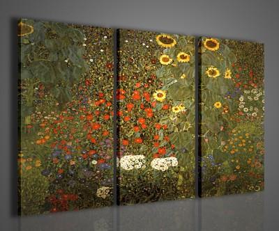 Quadri Moderni Per Ufficio : Gustav klimt girasoli quadri moderni arredamento quadro moderno